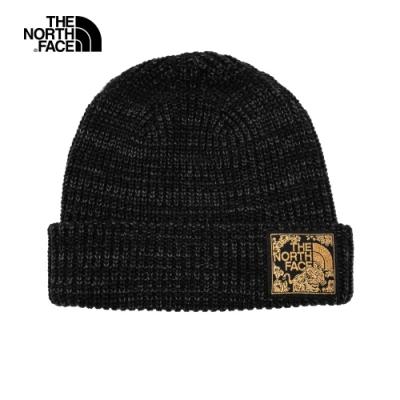 The North Face北面男女款黑色保暖毛帽|3FJW39K