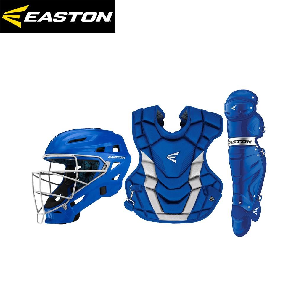 EASTON GAMETIME BOX SET 成人捕手護具組 A165-427 寶藍