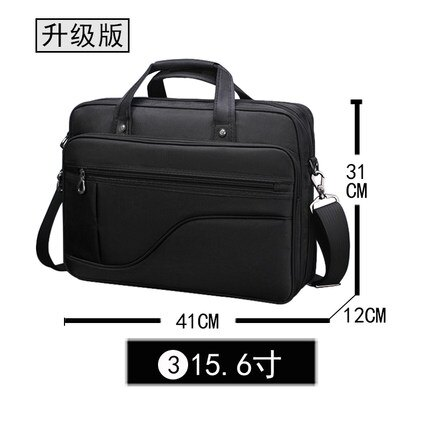 筆電包 15.6英寸筆記本電腦包手提男商務單肩大容量筆記本包 15吋筆電包[優品生活館]