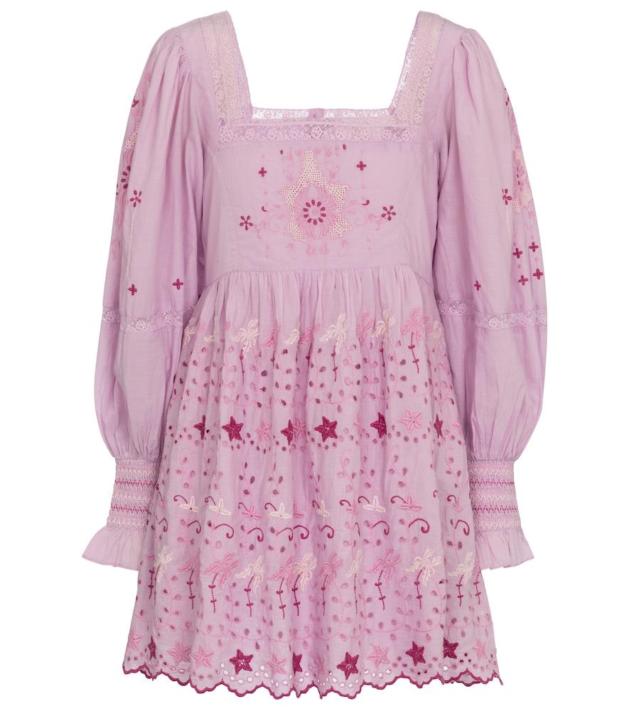 Freja cotton minidress