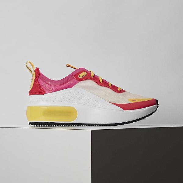 Nike Air Max DIA 女鞋 粉紅 厚底 氣墊 復古慢跑鞋 休閒鞋 AR7410-102