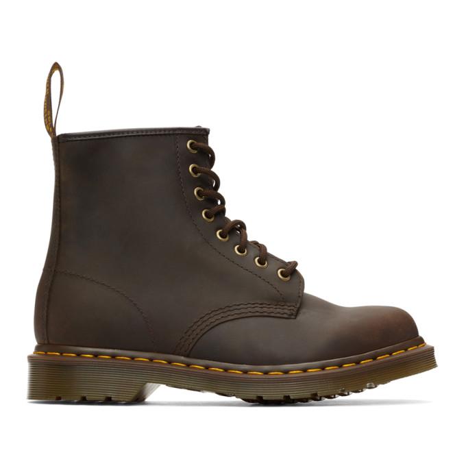Dr. Martens 棕色 1460 踝靴