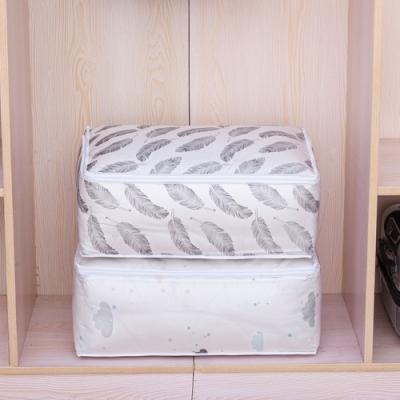 荷生活 方形PEVA大號棉被收納袋 高承重更耐用