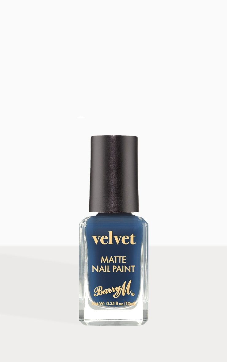 Barry M Cosmetics Velvet Nail Paint Silent Cove