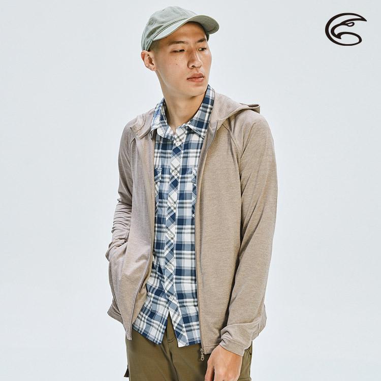 ADISI 男高針數吸濕快乾連帽外套AJ2011095 (S-2XL) / 城市綠洲 (輕薄透氣、輕量、排汗快乾)