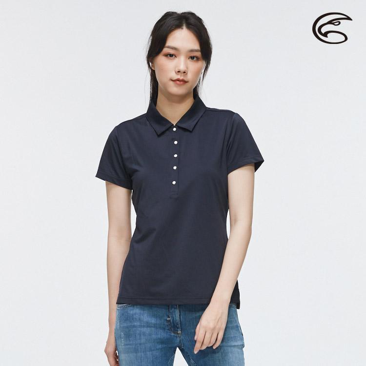 ADISI 女抑菌抗UV本布領POLO衫AL2011020 (M-2XL) / 城市綠洲 (柔軟彈性、吸濕排汗、抗UV)