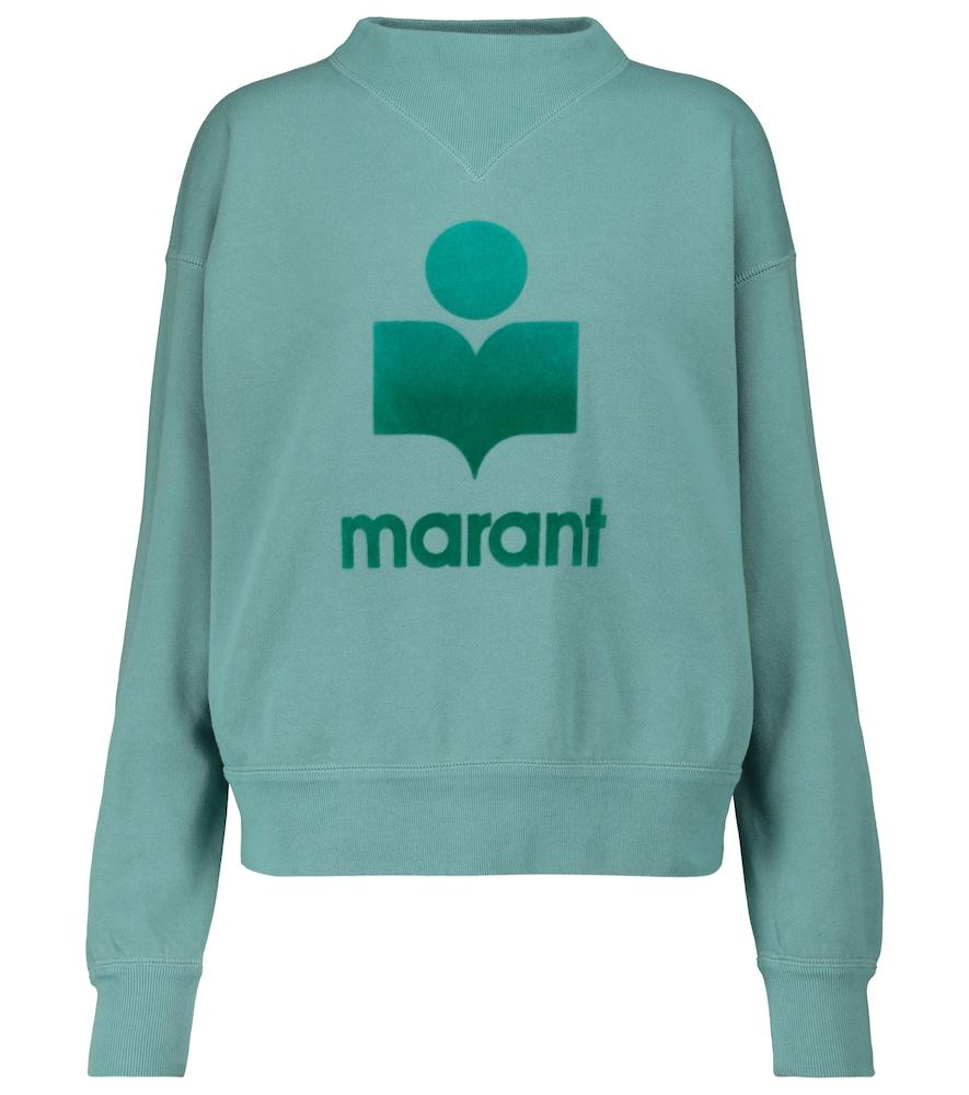 Moby cotton-blend sweatshirt