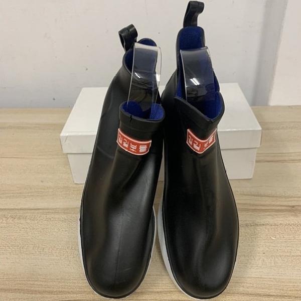 時尚男士中筒雨鞋雨靴膠鞋休閒鞋(43號/777-9309)