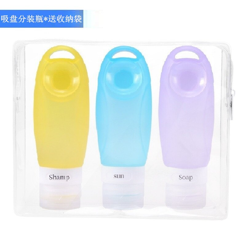硅膠旅行瓶 卡通洗手液分裝瓶 便攜防漏硅
