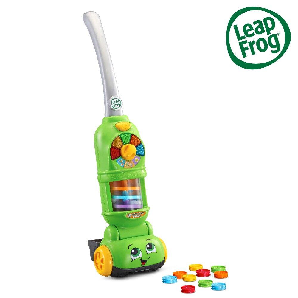 美國 LeapFrog 跳跳蛙 走走數數吸塵器
