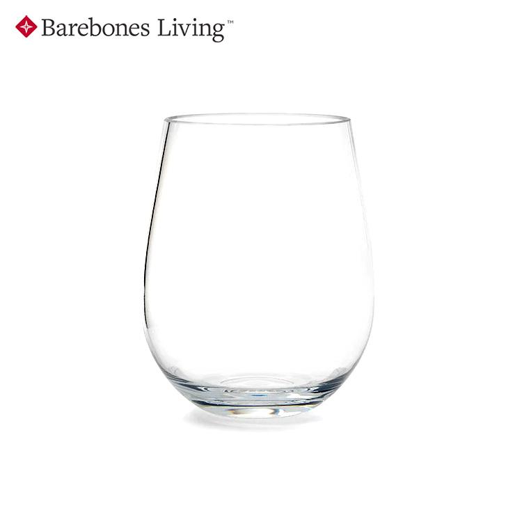 【兩入一組】Barebones Wine Tumbler 酒杯組 CKW-359/ 城市綠洲(杯子、紅酒杯、葡萄酒杯)
