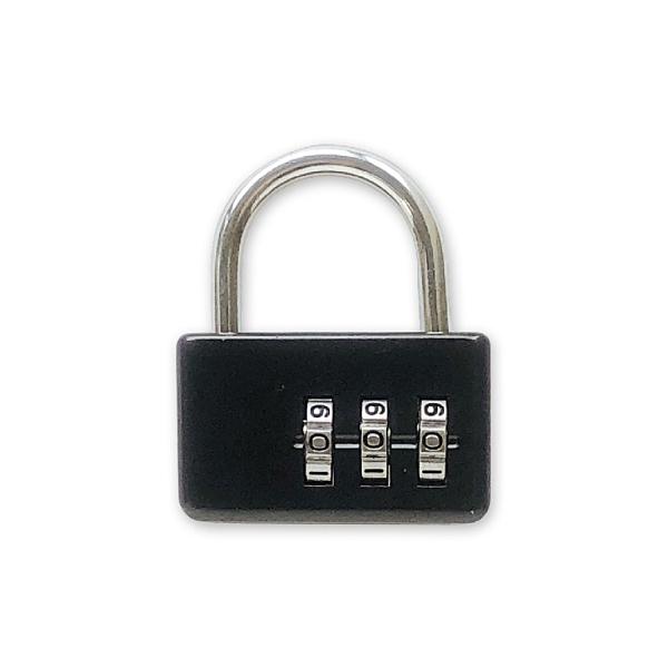 (特)手作之三碼密碼鎖(黑)