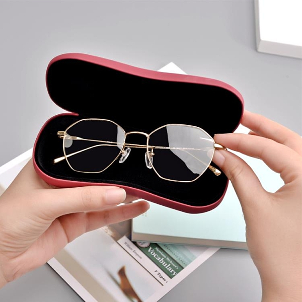 眼鏡盒簡約 款復古文藝時尚