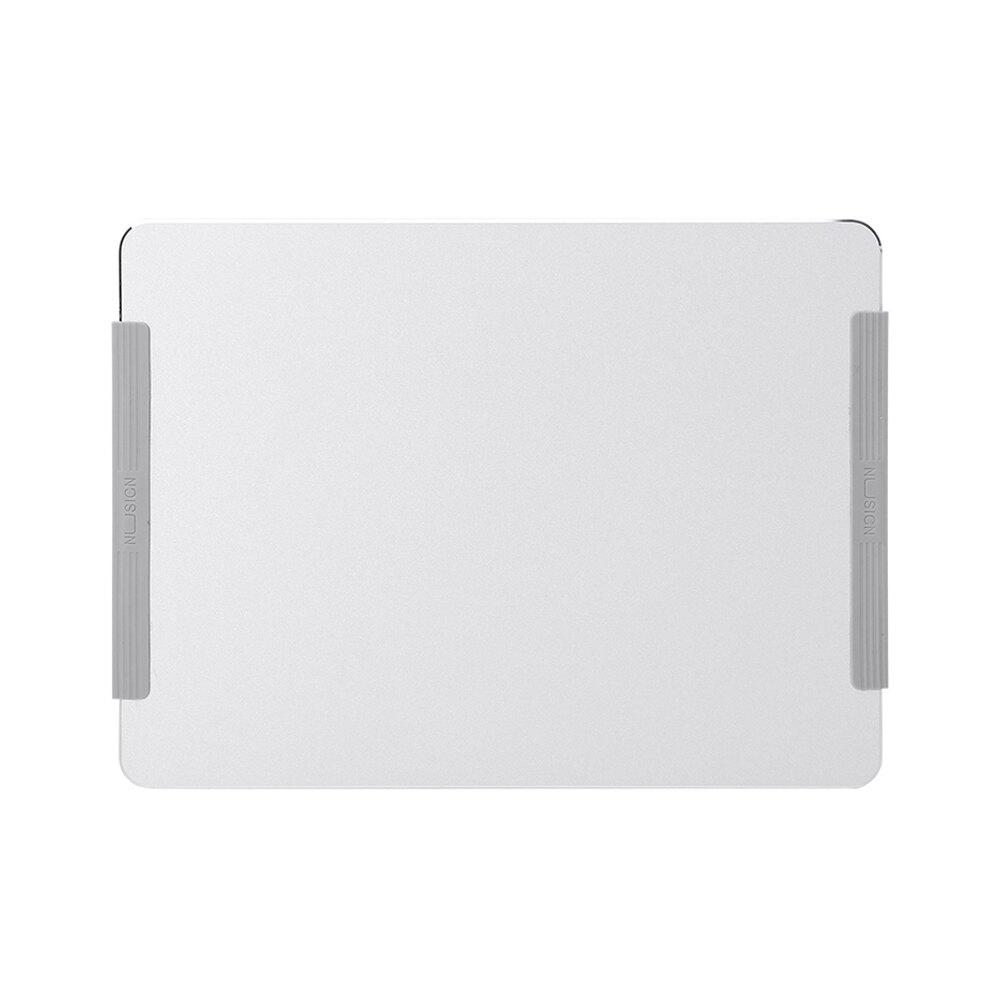 NU SIGN金屬滑鼠墊-銀色(NS816)【Deli得力】