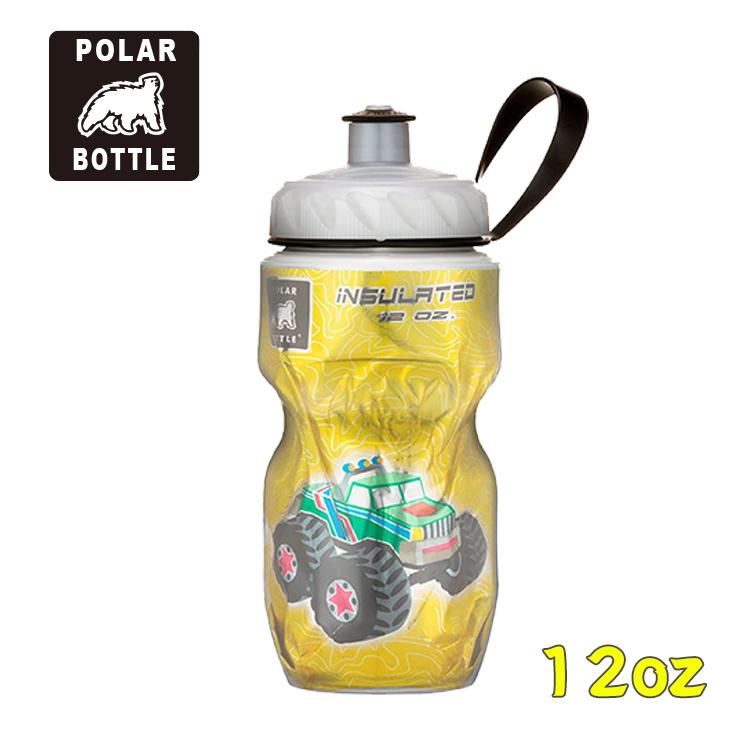 Polar Bottle 12oz 保冷水壺 Monster Truck