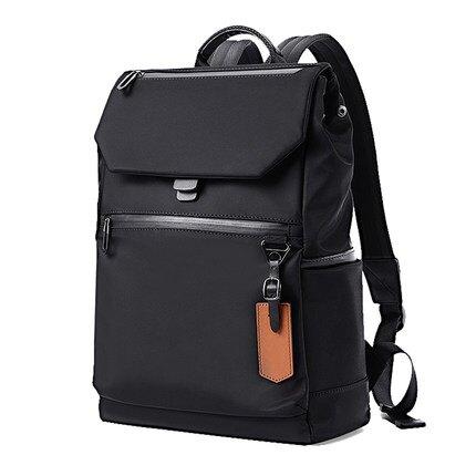 後背包 筆電包 男士時尚潮流雙肩包 青年電腦包簡約休閒雙肩背包個性創意背包[優品生活館]