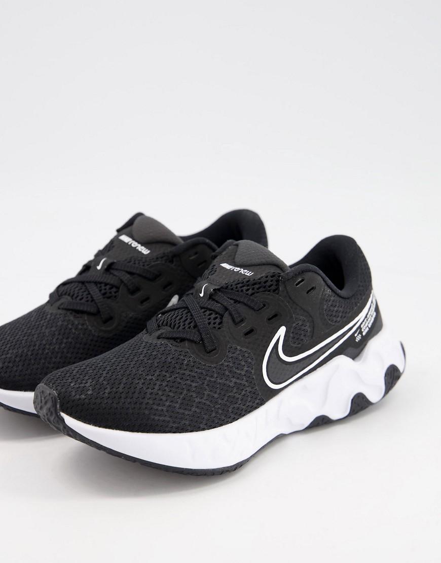 Nike Running Renew Ride 2 trainers in black