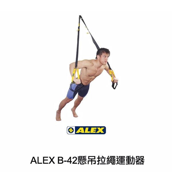 ALEX 懸吊拉繩訓練器B-42/城市綠洲(移動健身.腹胸背腿部肌肉訓練.附說明CD.多功能)