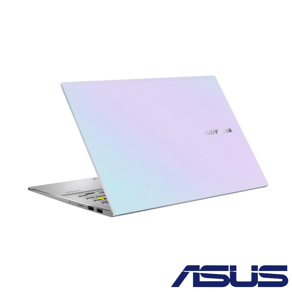 ASUS S433EQ-0078W1135G7 幻彩白 華碩超薄筆電 虛擬數字鍵盤版