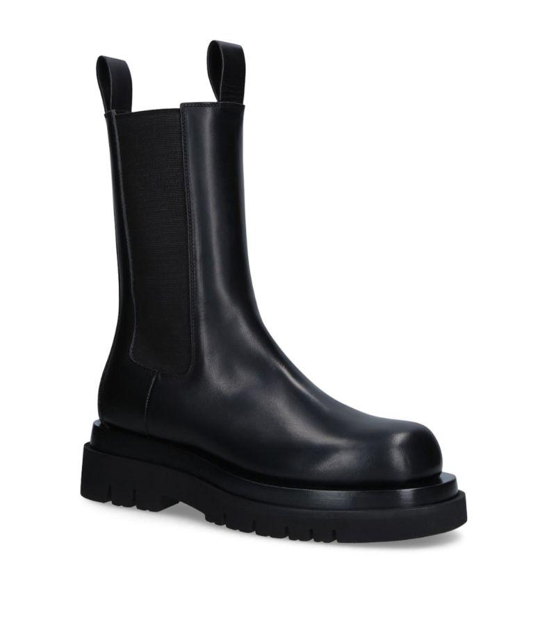 Bottega Veneta Leather Bv Lug Boots