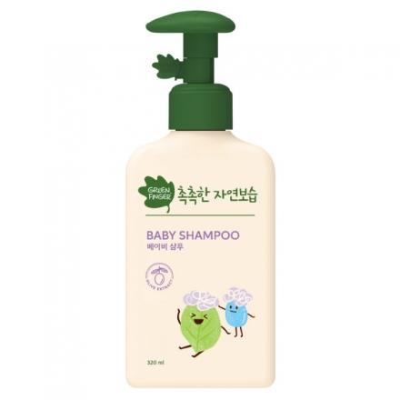 綠手指CHOK CHOK三效保濕嬰幼兒洗髮乳320ml
