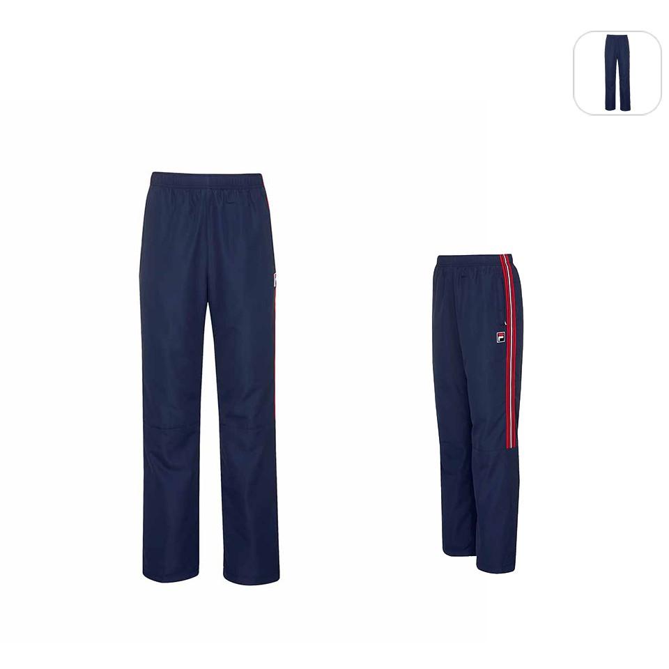 【FILA】男性 平織長褲-丈青 1PNU-5523-NV