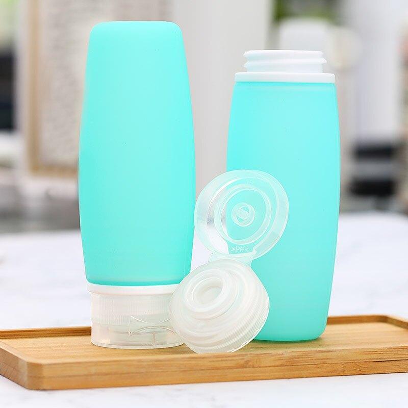 便攜式硅膠分裝瓶旅行瓶套裝三合一收納瓶防