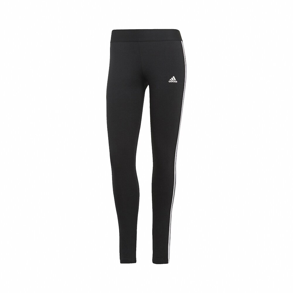 ADIDAS 緊身褲 3-Stripes Leggings 女款 愛迪達 三線 內搭褲 健身 重訓 瑜珈 黑 白 [GL0723]