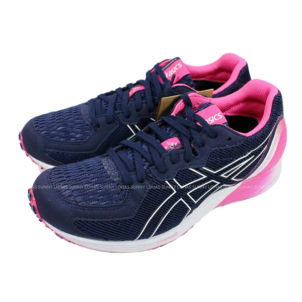 (C1)ASICS 亞瑟士女鞋 TARTHEREDGE 2虎走 競速路跑鞋 慢跑鞋1012A733-401紫 [陽光樂活]