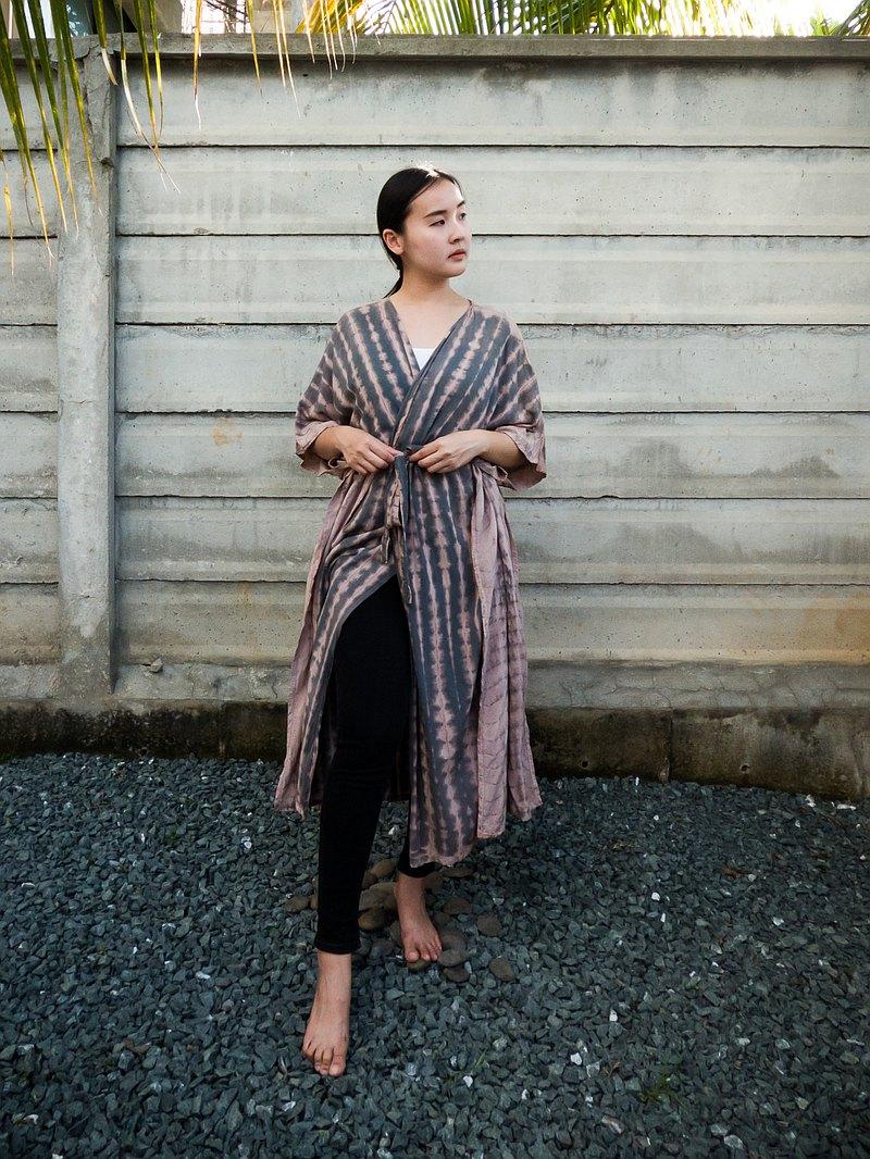 女式睡衣 和服 浴袍 復古和服開衫女士 長袍