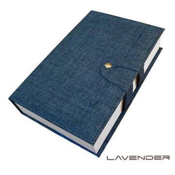 Lavender-經藏書眼鏡收納盒-藍