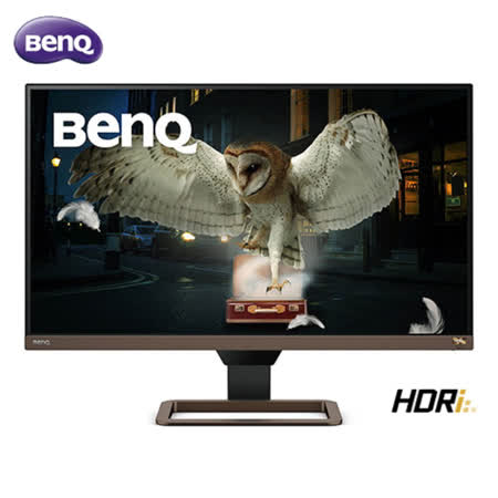 BenQ 27吋 EW2780U UHD 類瞳孔娛樂護眼螢幕