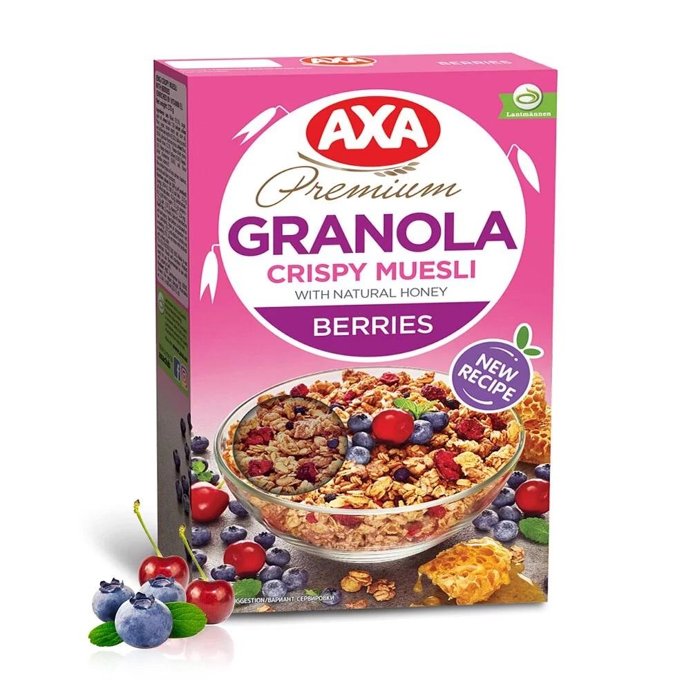 [瑞典 AXA] 綜合莓果穀物麥片 (270g/包) (奶素)