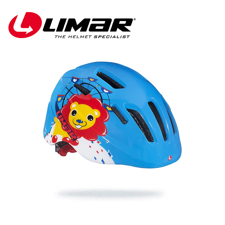 LIMAR 幼童自行車帽224 / 城市綠洲(自行車帽、頭盔、單車用品、輕量化、義大利)