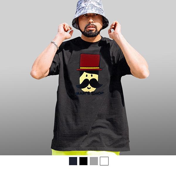 【男人幫】T1390* 美式英文立體布標純棉短袖T恤
