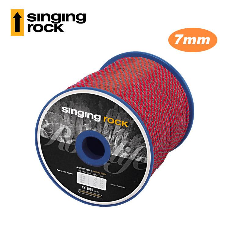 【客製商品】Singing Rock 7mm輔助繩 Accessory Cord L0071 (1公尺) / 城市綠洲(捷克品牌.多用途.繩索)
