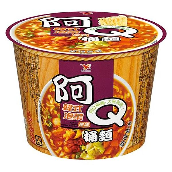 阿Q桶麵韓式泡菜風味102g x3桶/組【愛買】