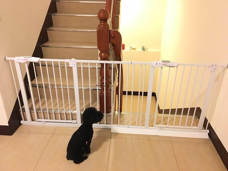 雙門組合的272-280公分 狗柵欄 圍欄 嬰幼兒門欄 樓梯護欄 柵欄 (copy)