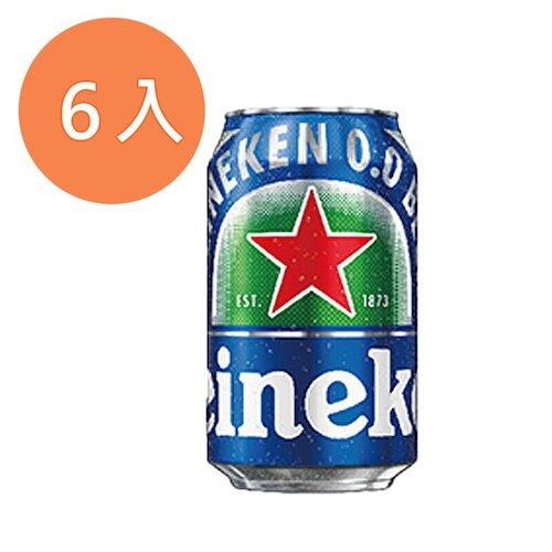 海尼根0.0零酒精330ml(6入)/組