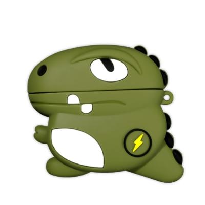 AirPodsPro保護套 藍牙 耳機 閃電恐龍 造型 保護殼 AirPods Pro 耳機保護套-閃電恐龍*1
