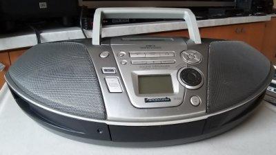 功能正常 國際牌 Panasonic RX-ES23手提CD,卡帶,收錄音機 卡座 錄音座