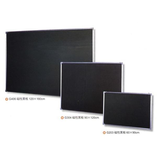 【大台北市區價】群策 G407 磁性鋁框黑板 4x7尺 附筆槽綠色板面