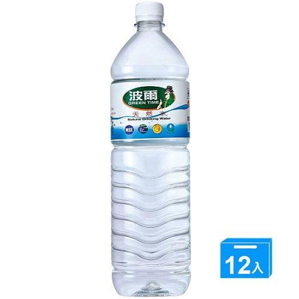 金車波爾天然水1500ML*12【愛買】