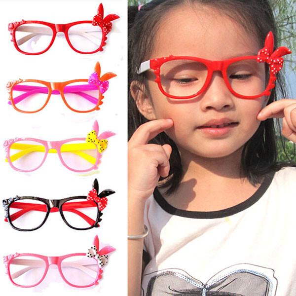 居家寶盒超萌兔子造型眼鏡框架 無鏡片眼鏡 卡通造型男女兒童鏡框 表演道具 造型眼鏡 裝扮遊戲
