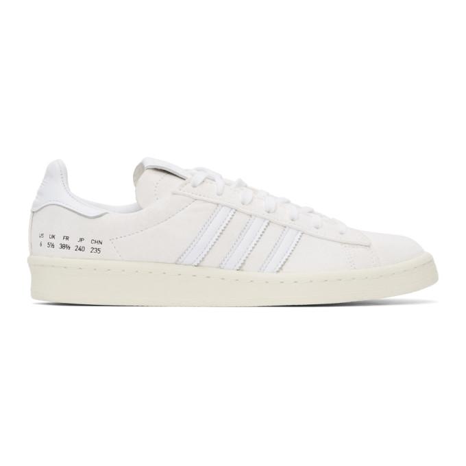 adidas Originals 白色 Campus 80s 运动鞋