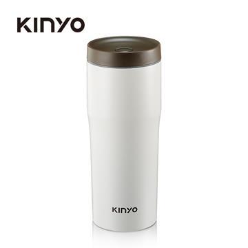 耐嘉KINYO 304不鏽鋼480ml車用保溫杯(KIM37)
