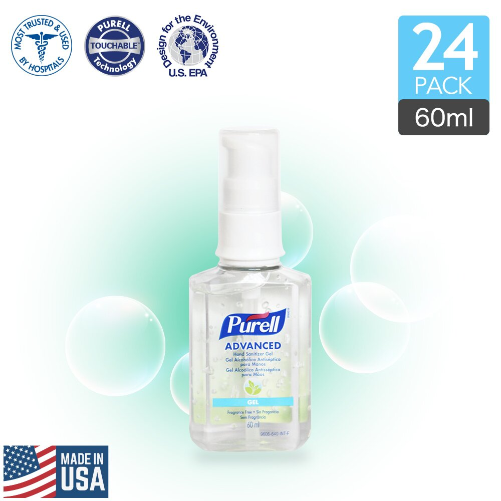 Purell 普瑞來 乾洗手凝露 60ml (24入)