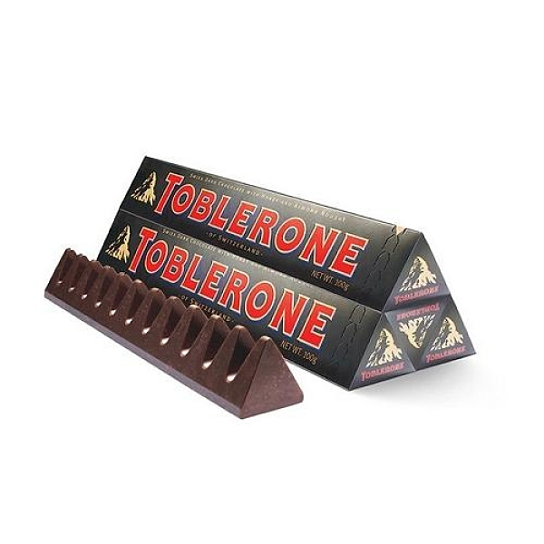 瑞士 三角黑巧克力100g【愛買】