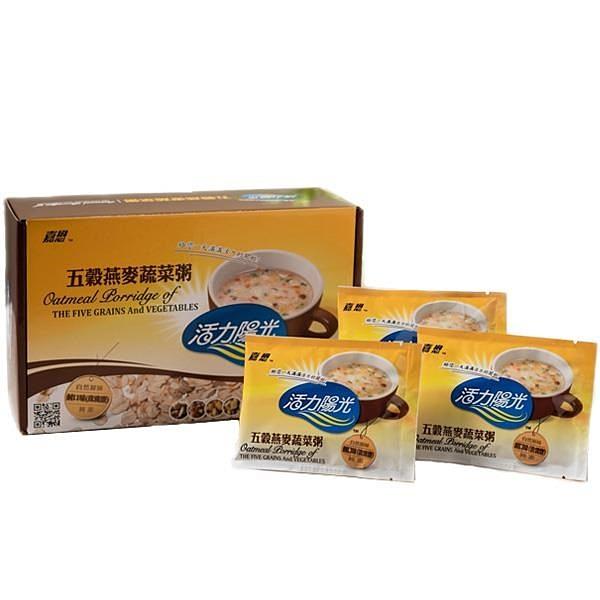 【南紡購物中心】【嘉懋】五穀燕麥蔬菜粥x2盒(20包/盒)