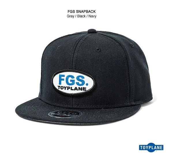 Toyplane FGS Snapback 貼布帽款